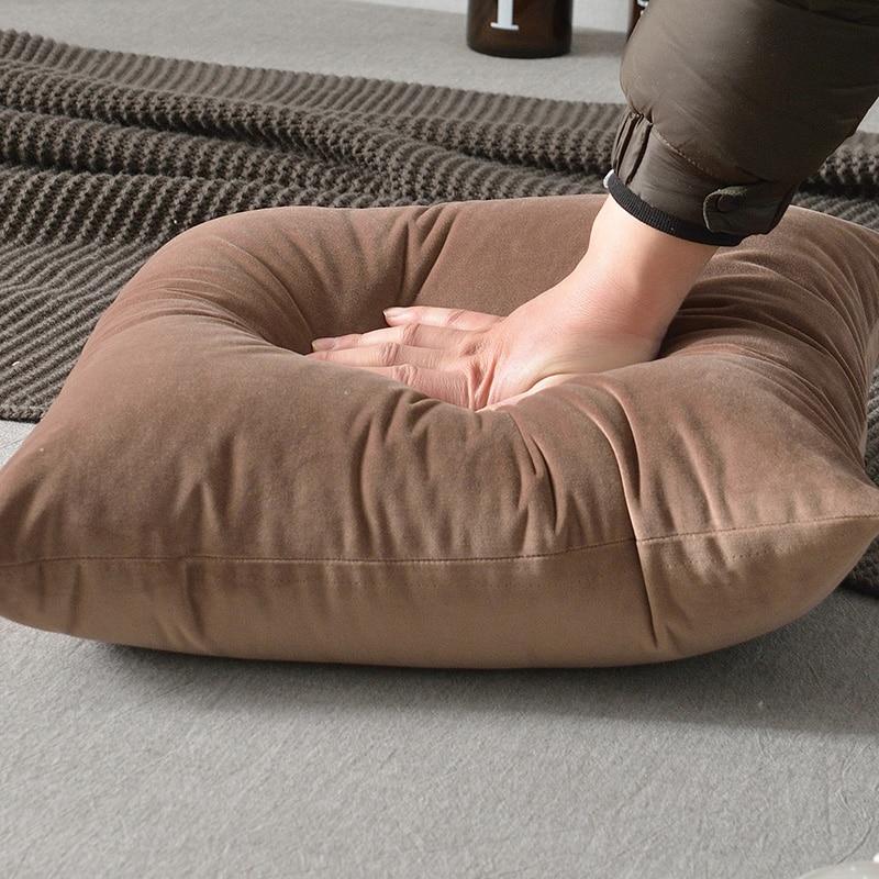Capa de almofada de veludo Super macio 30x50/40x40/45x45/40x60 /50x50/55x55/60x60 cm sofá lance fronha fronha decorativo