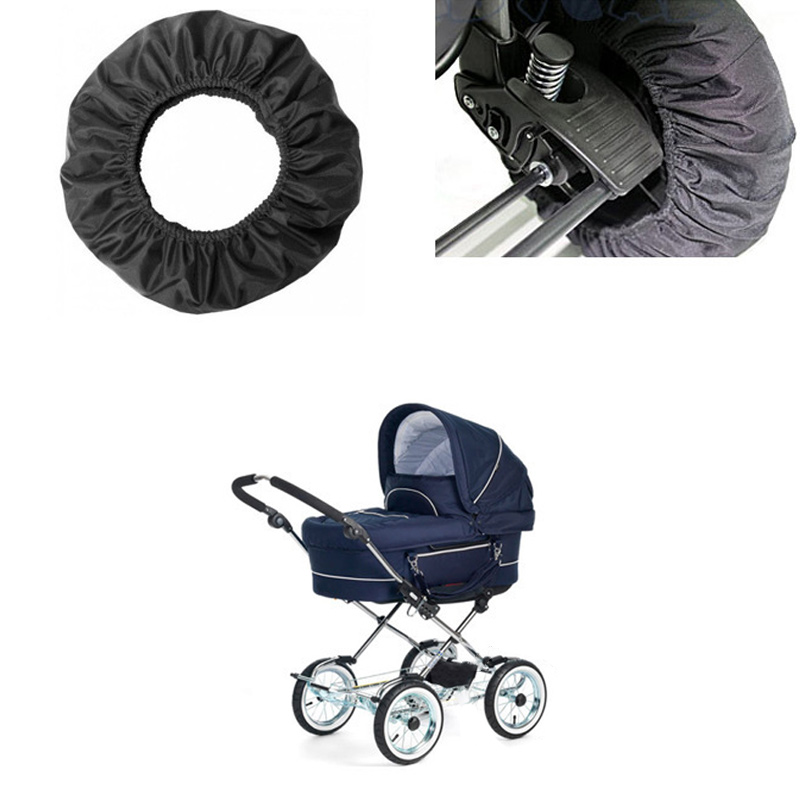 Stroller Accessories Wheel Cover Wheelchair Baby Carriage Pram Throne Pushchair Stroller YJS Dropship in Strollers Accessories from Mother Kids