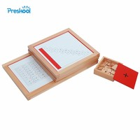 Montessori Kids Toy Baby Wood Addition Working Charts Learning Educational Preschool Training Brinquedos Juguets