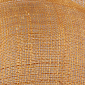 Элегантные шляпки из соломки синамей с вуалеткой хорошие Свадебные шляпы высокого качества женские коктейльные шляпы очень красивые несколько цветов MSF104 - Цвет: Золотой