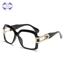 5202bf751460f VCKA marco gafas hombres mujeres ordenador óptico Big gafas marco para las mujeres  transparentes masculina Armacao Oculos de