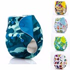 JinoBaby Newborn Diapers Cloth Reusable Baby Diapers AIO for Newborn (Infant 3KGS to 6KGS Weight)