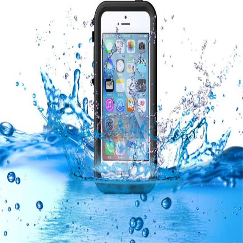 Phone case for Iphone  55s IP68 Waterproof Shockproof Dirt Proof Cover Case for iPhone 5 / 5S Plus SE  chekhol na ayfon 5s