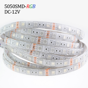 Image 2 - Светодиодная лента RGB 5050, 5 метров, 300 светодиодов, 12 В постоянного тока, светодиодная Водонепроницаемая Диодная ленсветильник IP65, красный, зеленый, синий, теплый/холодный белый