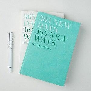 Image 1 - מחברת מתכנן 365 ימים 2020 2019 A5 יומי זמן תזכיר תכנון סדר יום מארגן פגישה בית הספר משרד לוח זמנים נייח מתנות