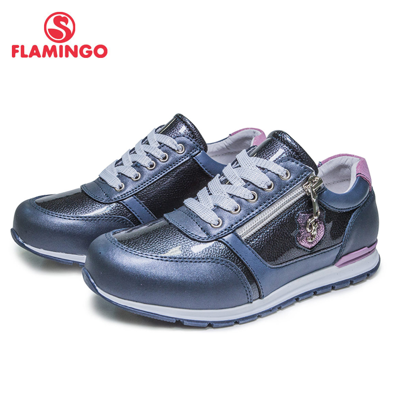 FLAMINGO Confortevole Primavera e Autunno Traspirante Hook & Loop Casual scarpe Ortopediche scarpe Outdoor scarpe per la ragazza 81P-XY-0656