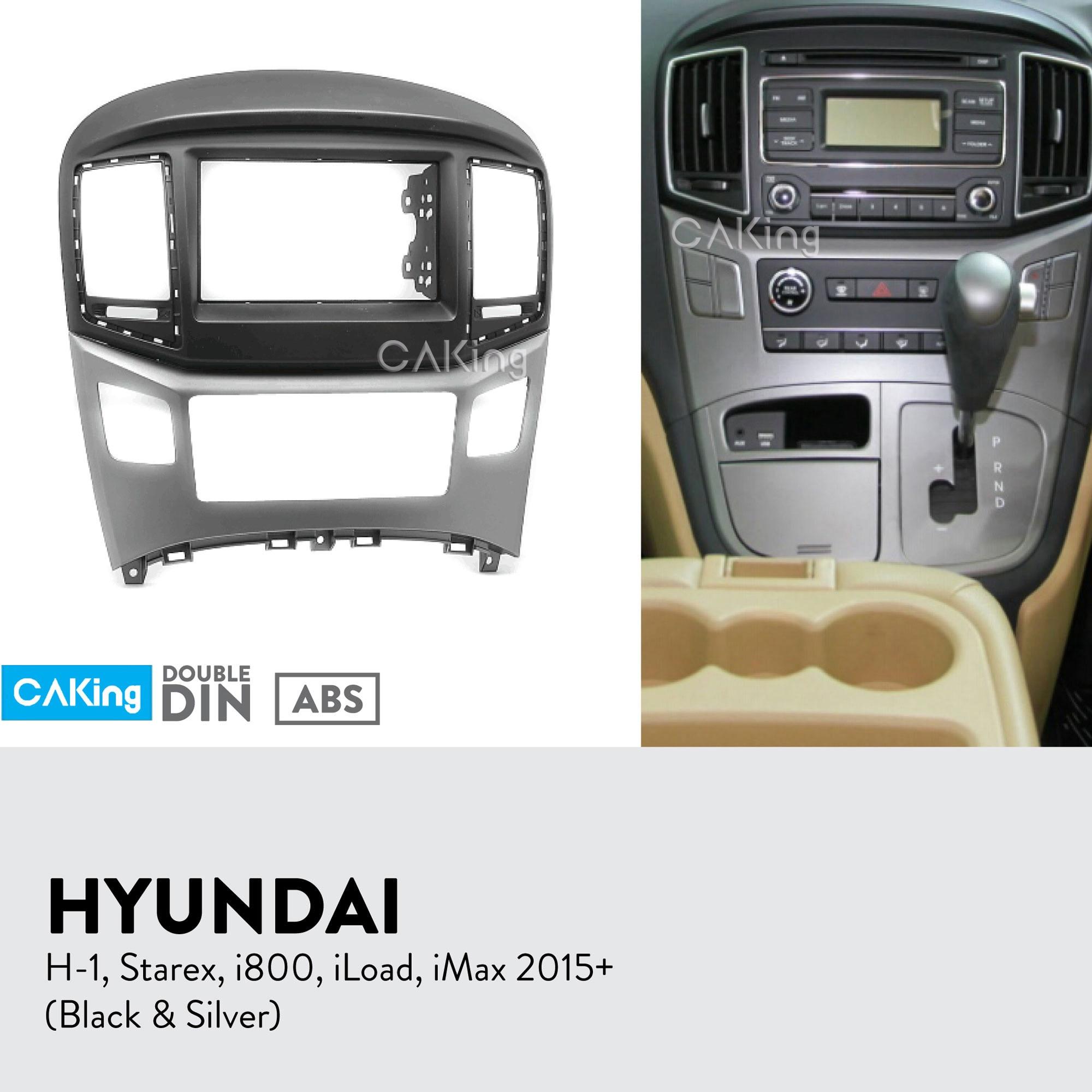 Car Fascia Radio Panel for HYUNDAI H 1 Starex i800 iLoad iMax 2015 Dash Kit Install