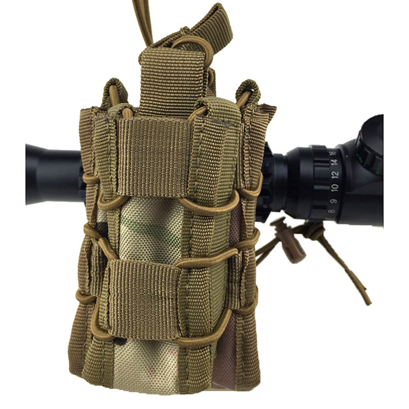 Learned Outdoor Double Magazine Mag Pouch High Quality Military Gear Hunting Bag Accessory Tactical Pouch