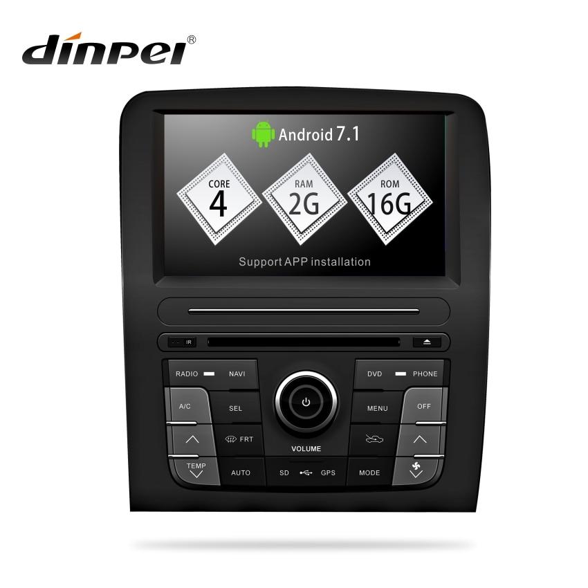 Dinpei Android dvd de voiture pour Haval Hover grande muraille H3 2003-2009 autoradio gps navigation voiture multimédia lecteur dvd