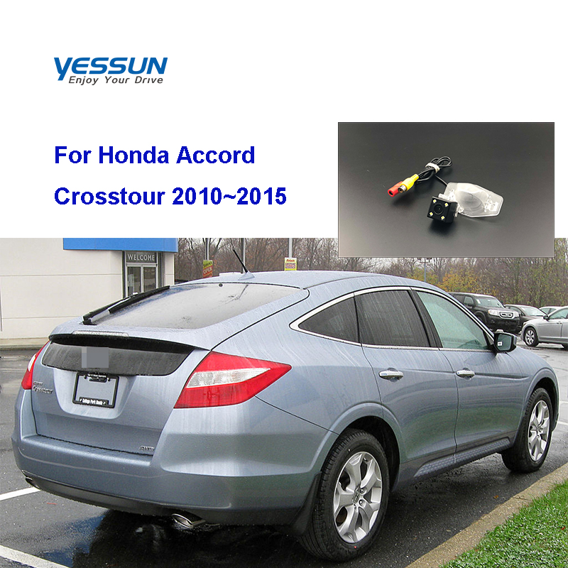 Yessun HD CCD Night Vision Car Rear View Reverse Backup Camera For <font><b>honda</b></font> <font><b>accord</b></font> <font><b>8</b></font> For <font><b>Honda</b></font> <font><b>Accord</b></font> Crosstour 2010~2015 image