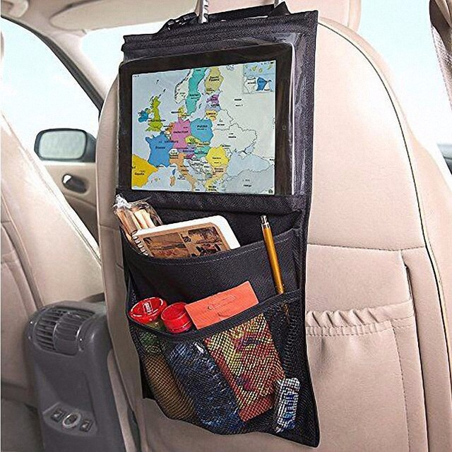 Multi-Pocket Car Seat Organizer