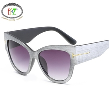 F.J4Z Fashion Cat Eye Sunglasses Women Summer Oversize Square Classic Brand Designer Shades UV400 Men's Sun glasses
