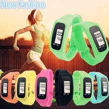Unisex Candy Color Sports Bracelet Watch Casual Date Bracelet Digital Silicon Watch LED Women Men Wristwatch Wholesale Price(China)
