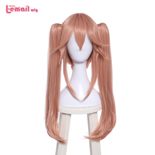 L-email wig New Arrival FGO Game Character Cosplay Wigs 60cm Long Heat Resistant Synthetic Hair Perucas Cosplay Wig l email wig lol neeko cosplay wigs the curious chameleon game cosplay wig heat resistant synthetic hair perucas cosplay wig