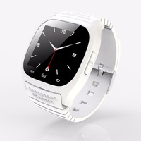 Smartwatch M26 Bluetooth Smart Wrist Watch Pedometer Music Player Waterproof Wearable Devices Mate for Android IOS Smart Phone