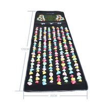 SEND FROM RUSSIA Colorful Pad Cushion Mat Square Gravel Foot Acupressure Pad Feet Health Care Relax