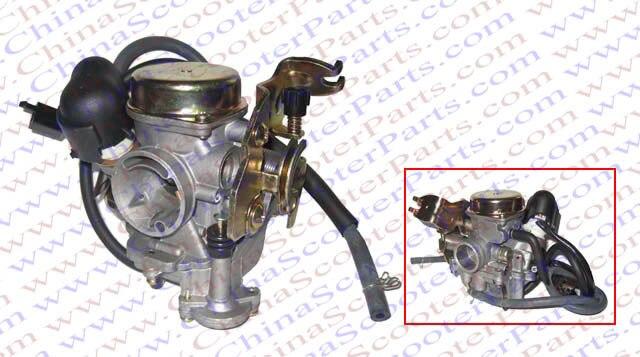 Pièces de carburateur de Scooter de la Performance 23 MM CVK Carb PD23 GY6 50CC 60CC 80CC 100CC Jonway Roketa Baja Jcl Taotao