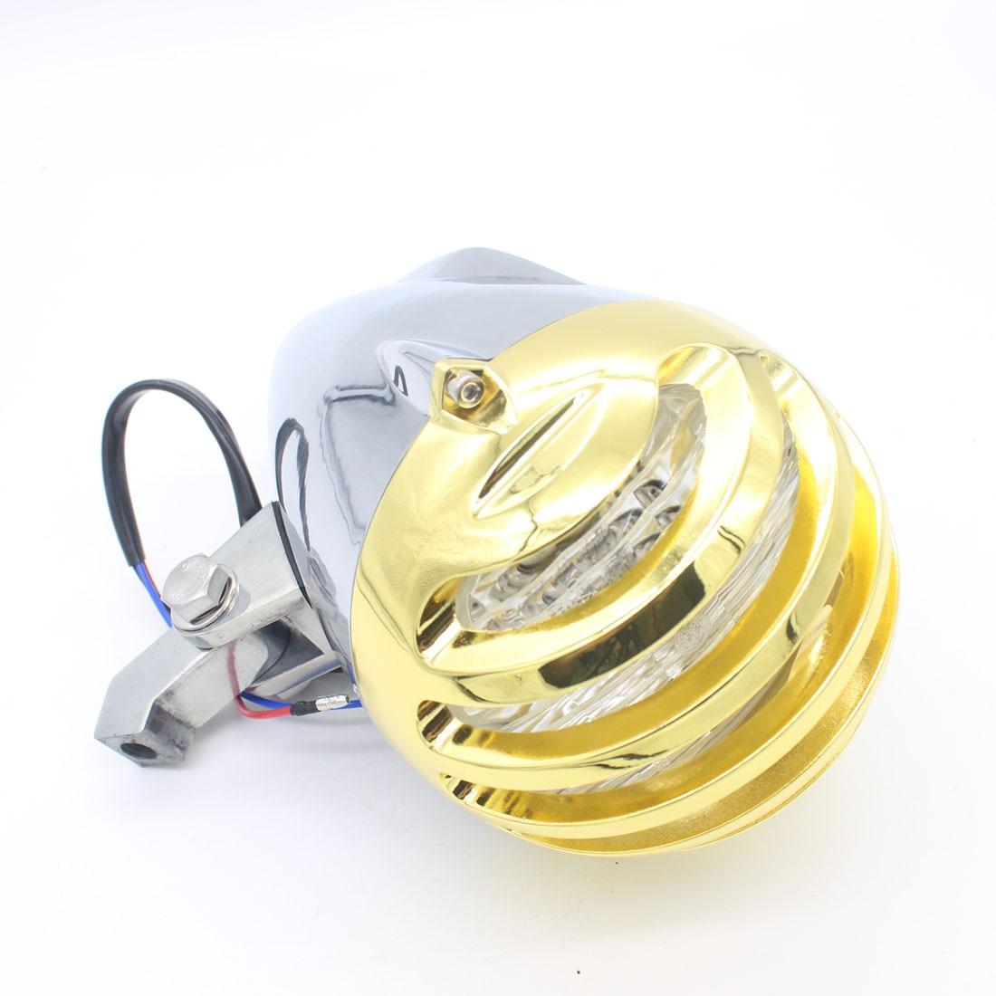 Universal Bala Motocicleta LLEVÓ la Luz de Conducción Motor Faros Antiniebla LED