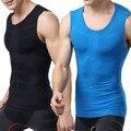 Combate seca Homens Camada de Base De Compressão Sem Mangas Sports Camisas Apertadas Tops Alta Qualidade