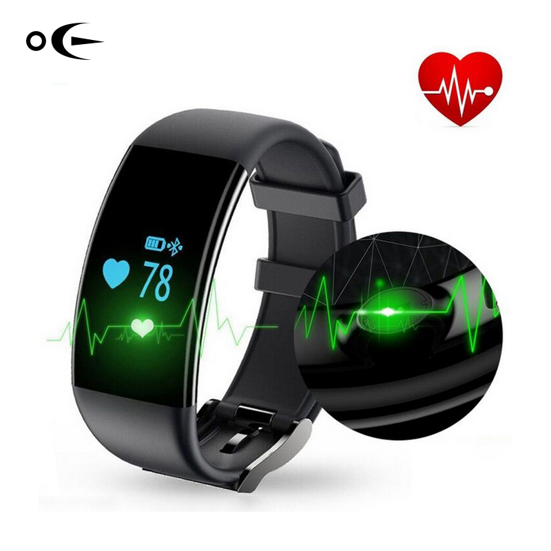 Bluetooth Sport Smart Watch Wristband IP67 Waterproof Smartwatch Heart Rate Monitor Smart Bracelet for Android iphone 2017 newest hot bluetooth smart watch v01 smartwatch heart rate monitor mp3 mp4 wristband intelligent for ios android smartphone