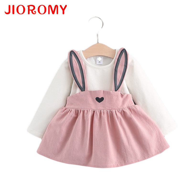 Baby Dress Girls 0-3 Years Old 2017 New Autumn Fashion Style Children Clothing Cotton A041 Infant Girls Dresses k1