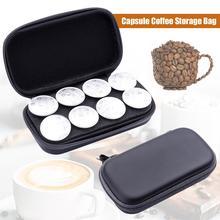 Капсула кофе сумка для хранения Вмещает 8 Pods портативная ручная машинка Brewer Espresso сумка для наушников Чехлы для дома