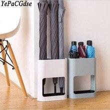 umbrella storage racks Storage bucket Removable long handle folding umbrellas dual-use rack