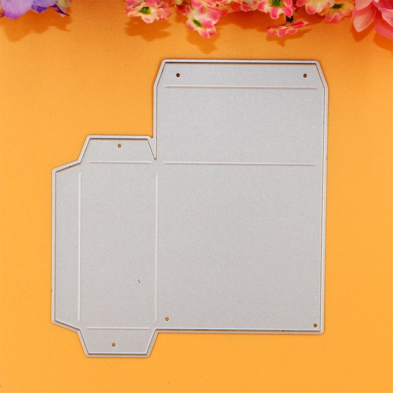 YLCD131 Gift Box Metal Cutting Dies For Scrapbooking Template DIY Cards Album Decoration Embossing Folder Die Cutter Stencils in Cutting Dies from Home Garden