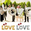 "4pcs large silver letters ""LOVE"" foil balloons wedding party decoration Helium Balloon inflatable letters air balls supplies"