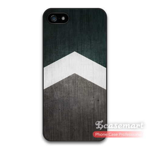 Arrow WIth Green Wood Protective Cover Case iPhone 6 Plus 5 5s 5c iPod Touch Retail Worldwide - Ecasemart store