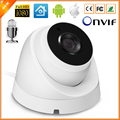 External Audio IP Camera 720P 960P 1080P ( SONY IMX322 Sensor ) Indoor Dome Surveillance Video Camera IP 2PCS ARRAY LED ONVIF