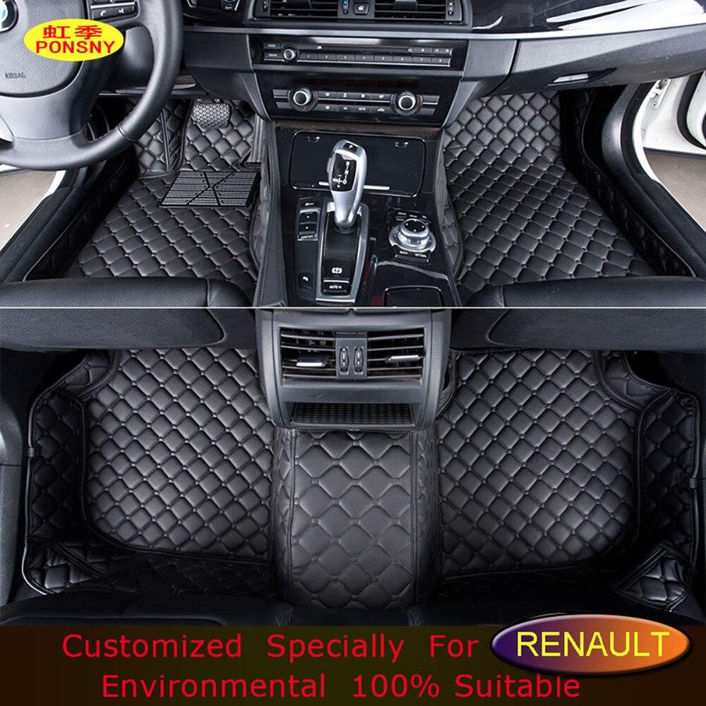 ᐊPonsny автомобиля <b>Коврики</b> для Renault Scenic Fluence Koleos ...