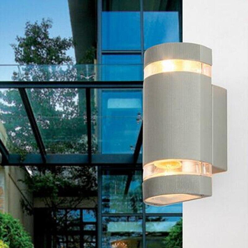 Modern Wall Light Outdoor: 10pcs/lot LED Waterproof Outdoor Porch Lights Modern Wall