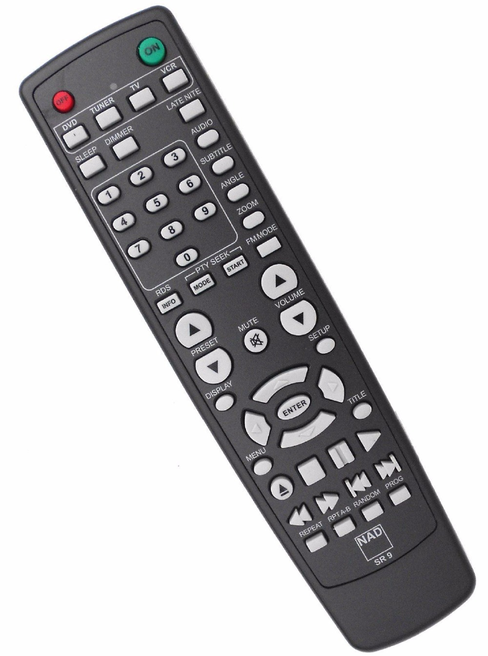 NEW Original GENUINE  NAD AV Receiver Remote Control SR 9 SR9 for NAD C 717 DVD Receiver