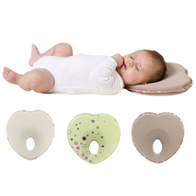 Retail Newborn Anti Roll Pillow Toddler Comfortable Safe Sleep Head Positioner Anti-rollover Baby Shaping Pillow almohadas bebe