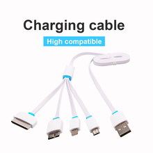 Universal USB 1m/30cm 4 in 1 Charge Cable Multi Car Charger Cable for HTC iPhones Samsung s3 s4 s5 note 2 iphone 5S 5 6 4 4S