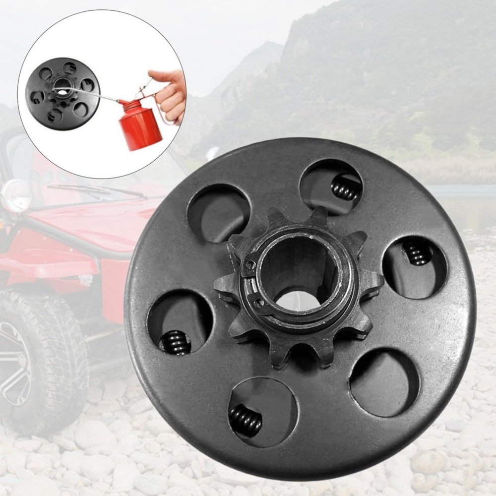 Embrayage Kart 10 dents avec cha/îne 40//41//420 Embrayage centrifuge durable 3//4al/ésage 3//16 cl/é int/égr/ée pour moteur de v/élo de kart
