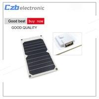 الجديد usb الموانئ 5 فولت الشمسية لوحة شاحن 10 واط المحمولة الترا رقيقة الألواح الشمسية شاحن الهاتف الذكي لوحة