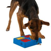U.S. kyjen puzzle treasure hunt pet bowl dog food containers anti obesity puzzle healthy dog bowl dog bowl