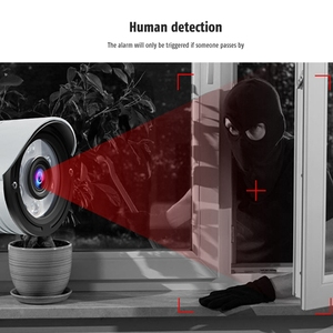 Image 5 - Wanscam k22 무선 와이파이 모션 감지 알람 ip66 방수 트리플 디지털 줌 적외선 야간 감시 카메라