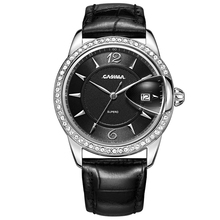 Relogio feminino lurxury brand women watches leather quartz watch Fashion dress  ladies wristwatch waterproof 50m CASIMA#2631