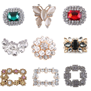 Clips Shoes-Accessories Crystal-Decorations-Shoes Rhinstones Wedding Ornament Bridal