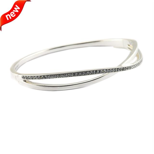 Serve Jóias Europeia CKK 925 Pulseiras De Prata Esterlina para Mulheres DIY Fazendo Prata Entrelaçados Pulseira Fine Jewelry FLB031
