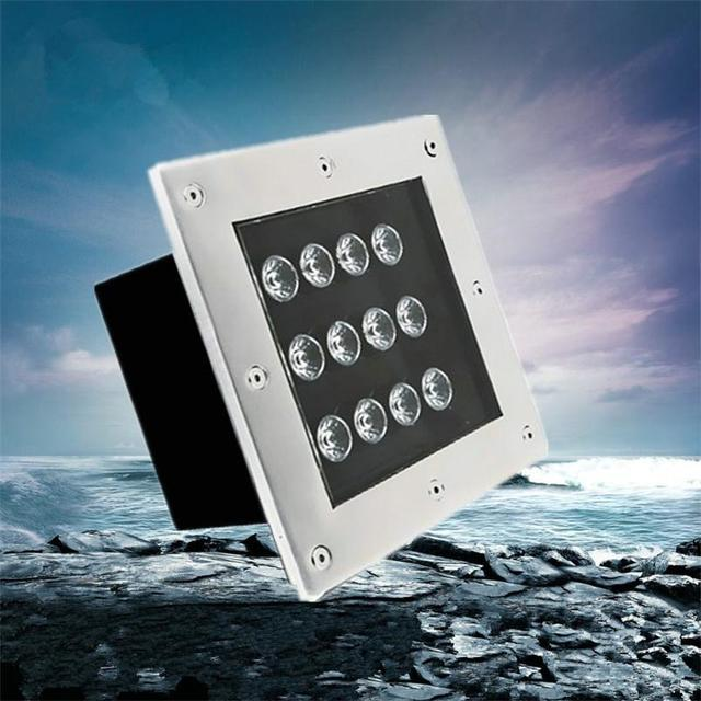 Outdoor Recessed Led Lighting Stufenlicht Treppe Underground Light Ip65 3w 9w 12w Step Fixtures Square