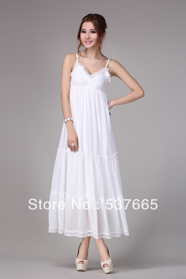7fffba0871 Cheap Long White Maxi Dresses - raveitsafe