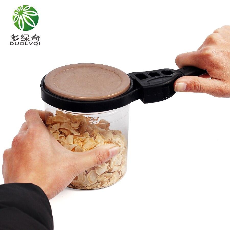 DUOLVQI 500mm Gomma Nera strumenti Apribottiglie Multifunzione Apriscatole Le Merci Per La Cucina Gadget Da Cucina