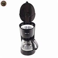 220V Drip coffee filter Full automatic coffee machine The drip type Coffee insulated machine Make tea machine