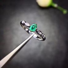 Speciale producten, natuurlijke emerald ringen, compact en compact, 925 zilveren favoriete winkels.