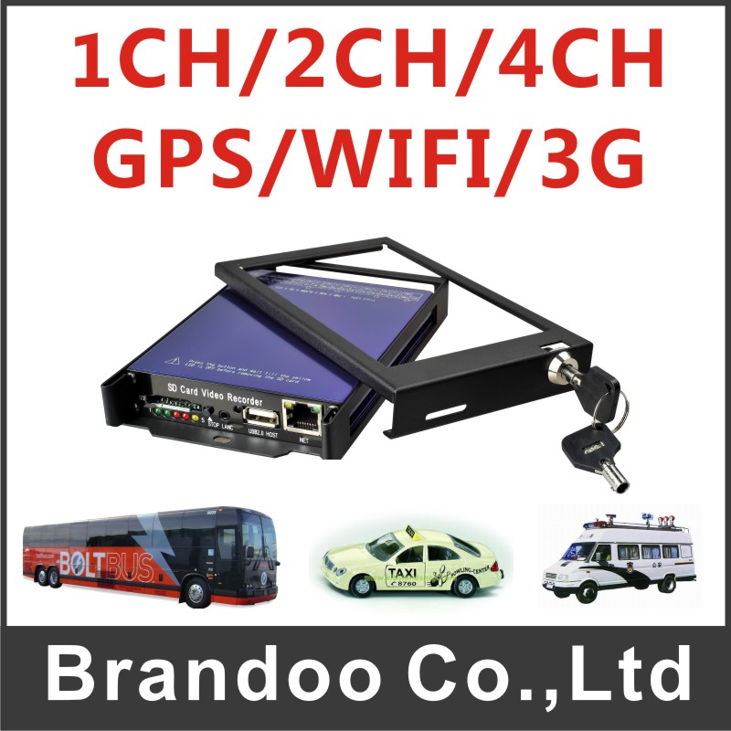 Free shipping 2 channel version Car DVR, 2 cameras working only, half screen for each,sold from Brandoo model BD-3011