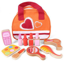 New Wooden Baby Toys Cosmetic Set Educational Gifts